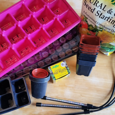 Basic Seed Starting for Beginners Part 2: Materials and Planning
